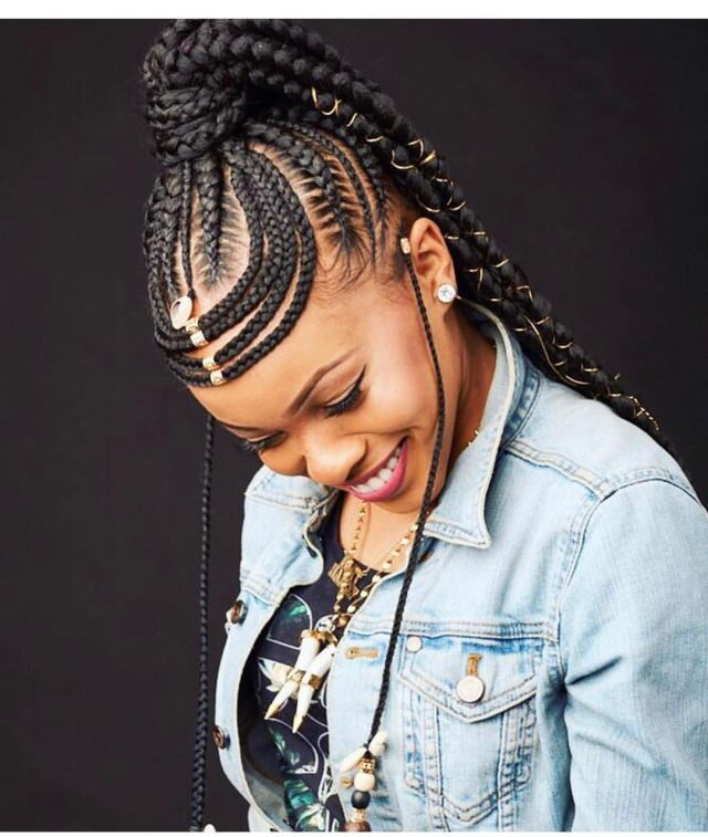 2020 African Braided Hairstyles for Beautiful Ladies