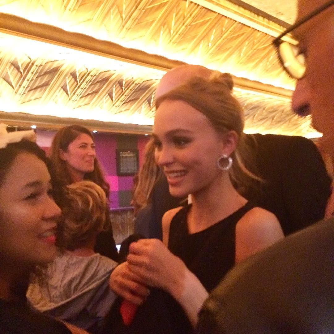 """Lily-Rose Depp for """"La Danseuse"""" premiere in Paris,France."""