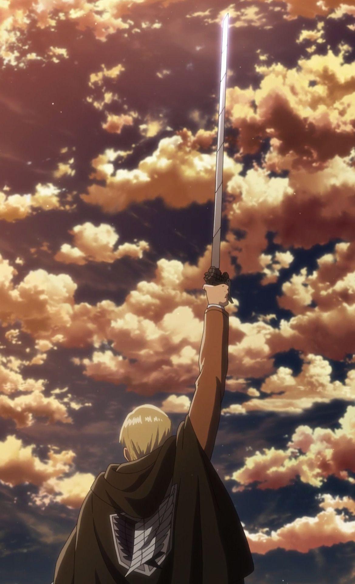 Garrandia Shinzou Wo Sasageyo Attack On Titan Anime Attack On Titan Fanart Attack On Titan Aesthetic