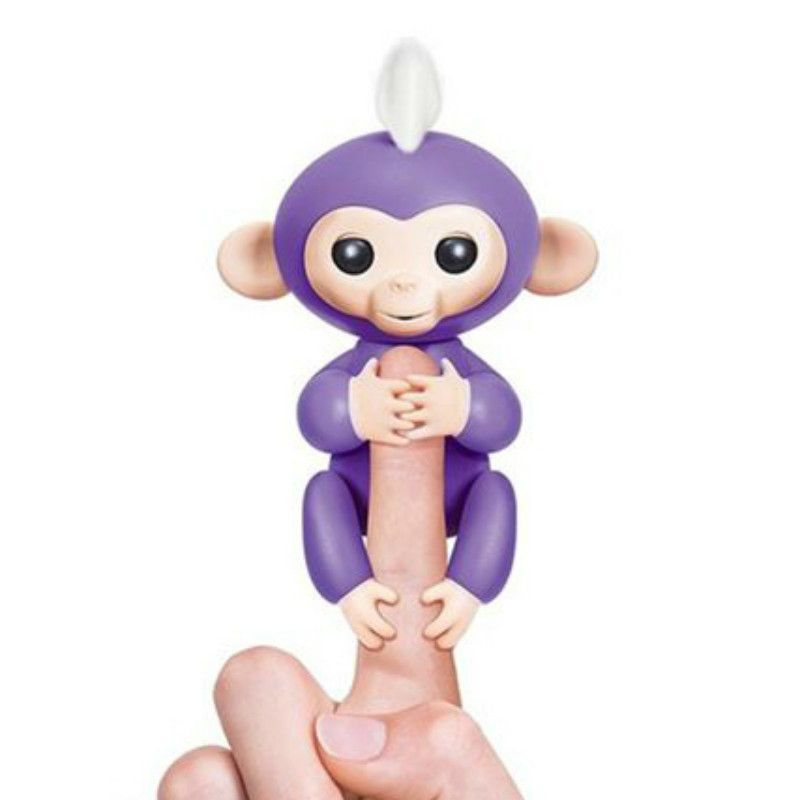 BLUE Fingerlings Interactive Baby Monkey Smart Christmas gift For kids Toys