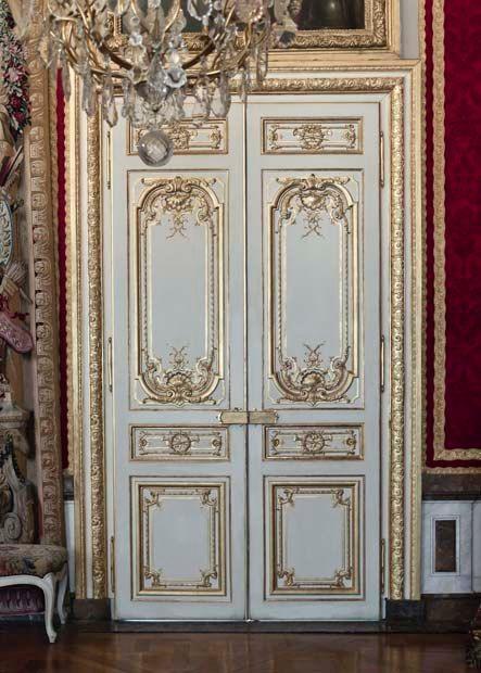 Purple Door Paris Print Paris Door Gray Purple Paris