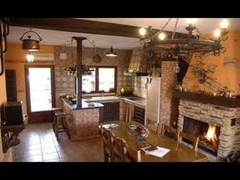Como decorar una cocina peque a rustica con paletas for Decoracion casas americanas
