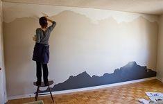 Metti, un murale in camera da letto | letto | Pinterest | Cameras