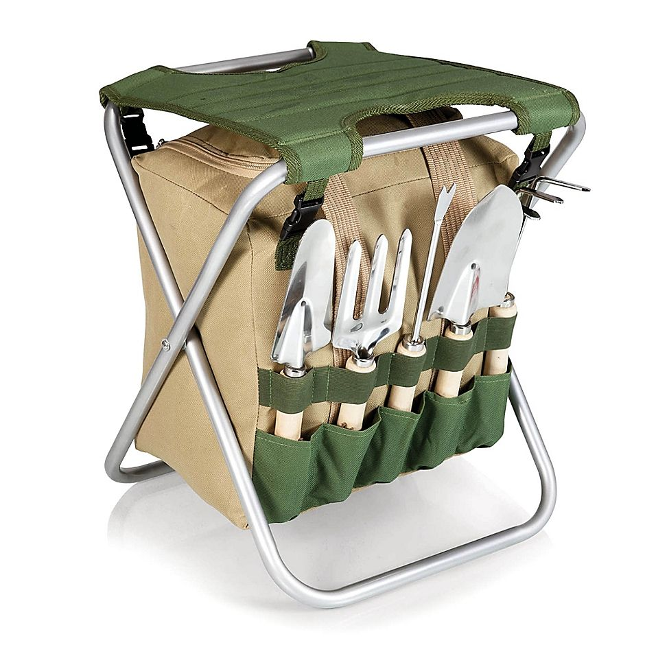 5166d7f25ab09d66fbce693c8902fbec - Picnictime Gardener Chair And Tools Set
