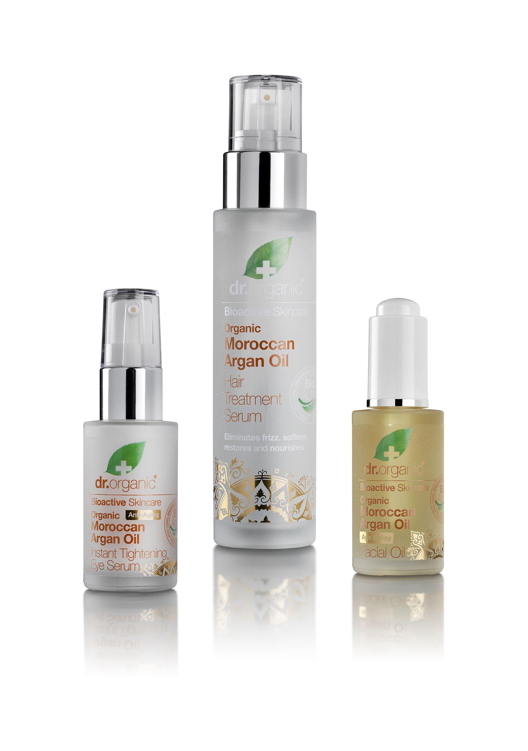 Dr. Organics Products Moroccan argan oil hair, Argan oil