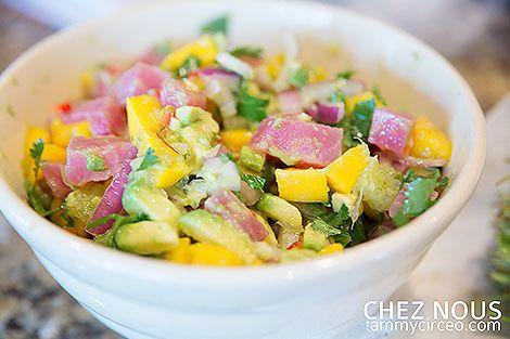 recipe: tuna mango ceviche [12]