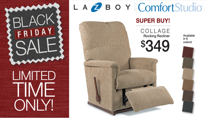 BLACK FRIDAY SPECIALS going on now at WilsonFurniture