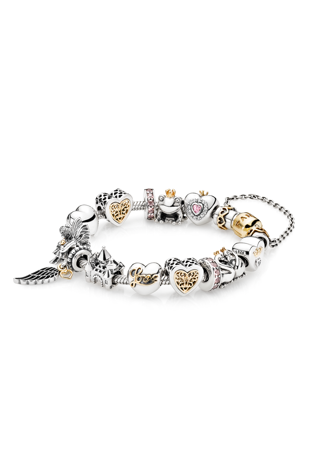 Create your own fairy tale with charms from pandora