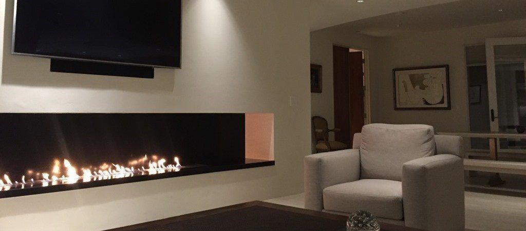Ethanol Fireplace Television Modulo Http://www.a Fireplace.com/ | Fireplace  | Pinterest | Tv Fireplace, Salons And Fireplace Set