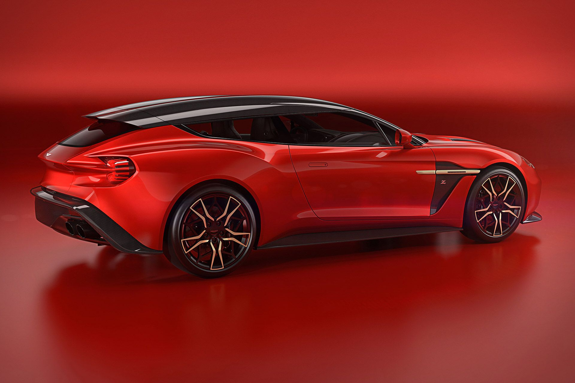 2018 Aston Martin Vanquish Zagato Shooting Brake Cars