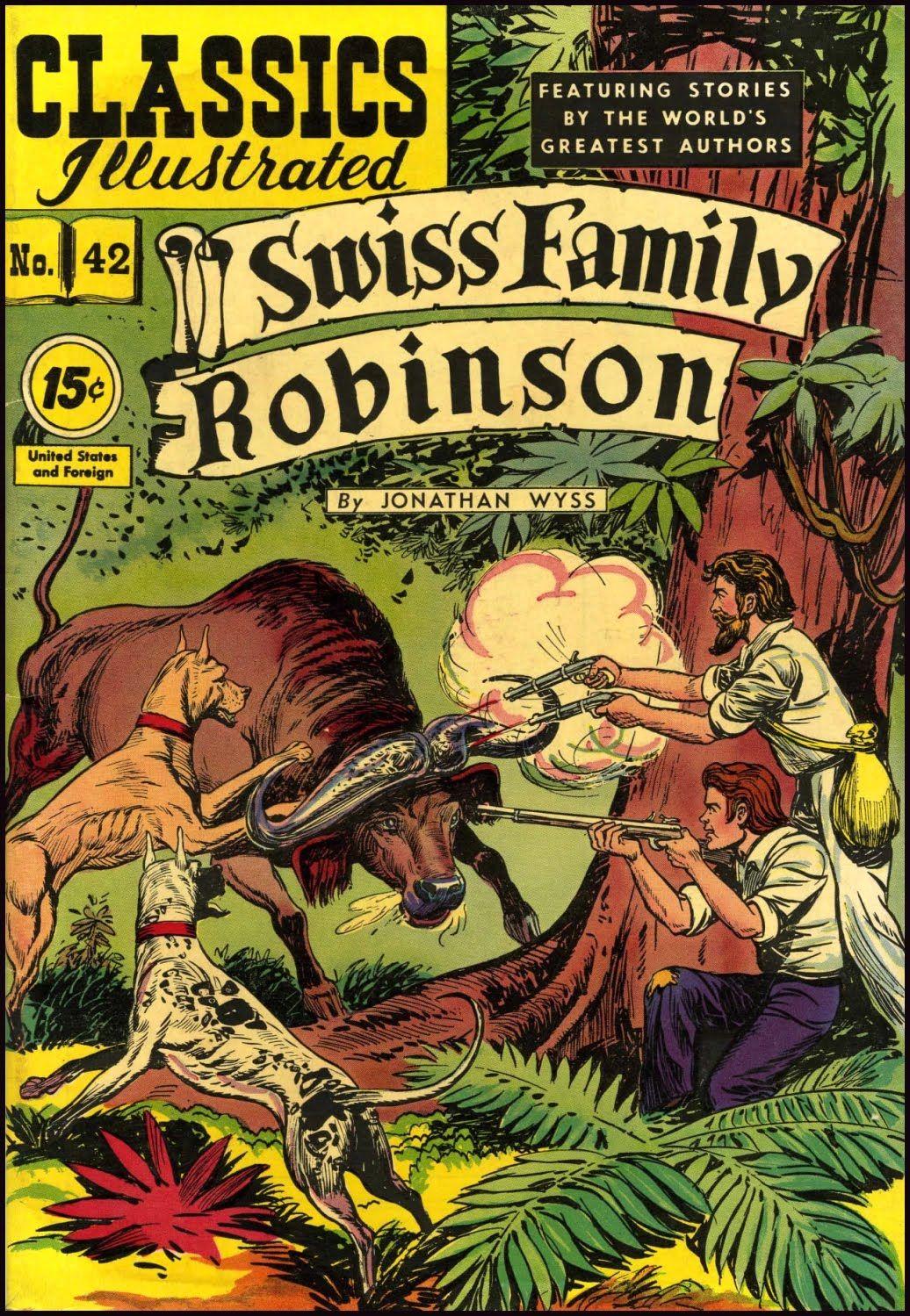 Swiss Family Robinson Classics Illustrated