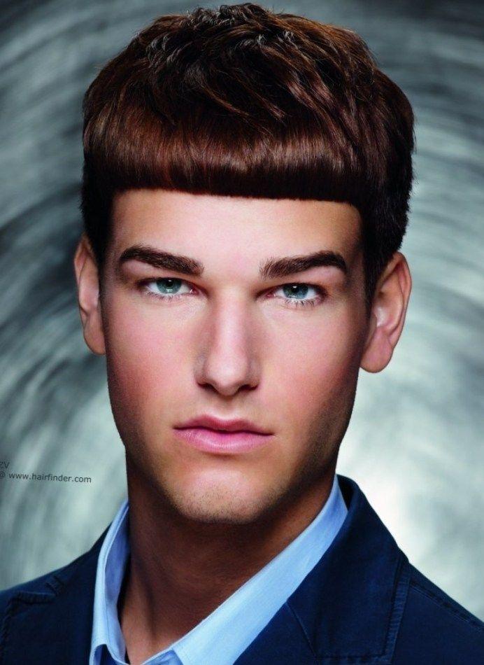 Frisuren Männer Pony Frisuren Männer Pinterest Manners