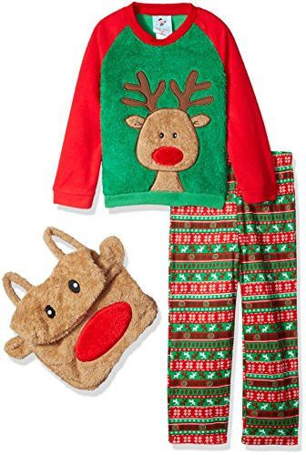 Bunz Kidz Boys I Wake Up Awesome Robe and 2pc Pajama Set
