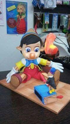 Pinocho de fomi