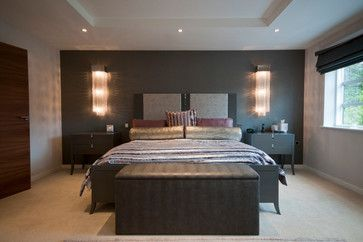 Lights On Both Sides Of Bed Contemporary Bedroom Design Contemporary Bedroom Modern Bedroom Design Modern bedroom ideas uk