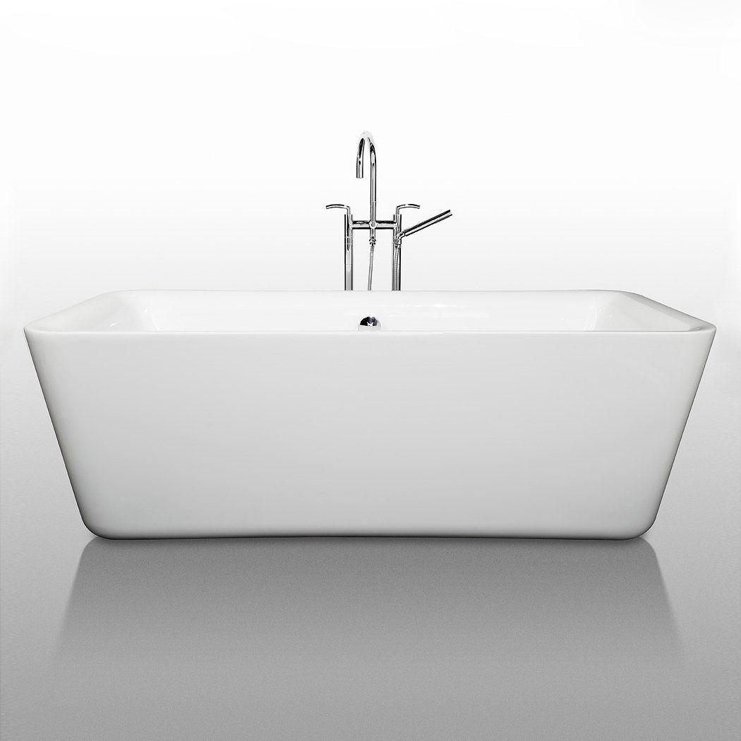 A square tub i like it soaking bathtubs