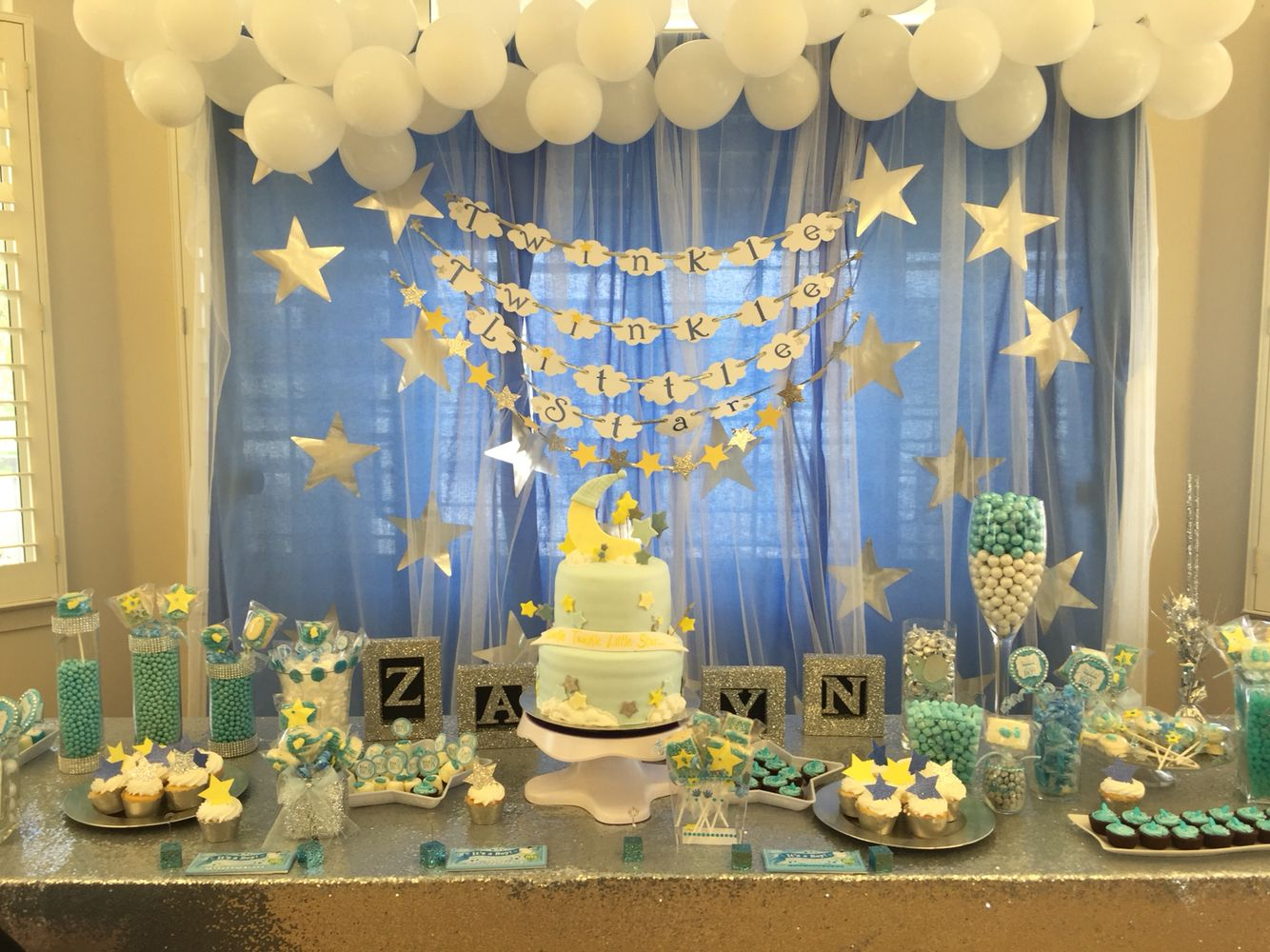 Twinkle twinkle little star baby shower baby shower pinterest star baby showers twinkle - Baby shower party ...