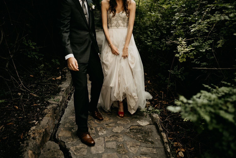 Nature wedding dress  Kellogg House Wedding Pomona  Bhldn California wedding and