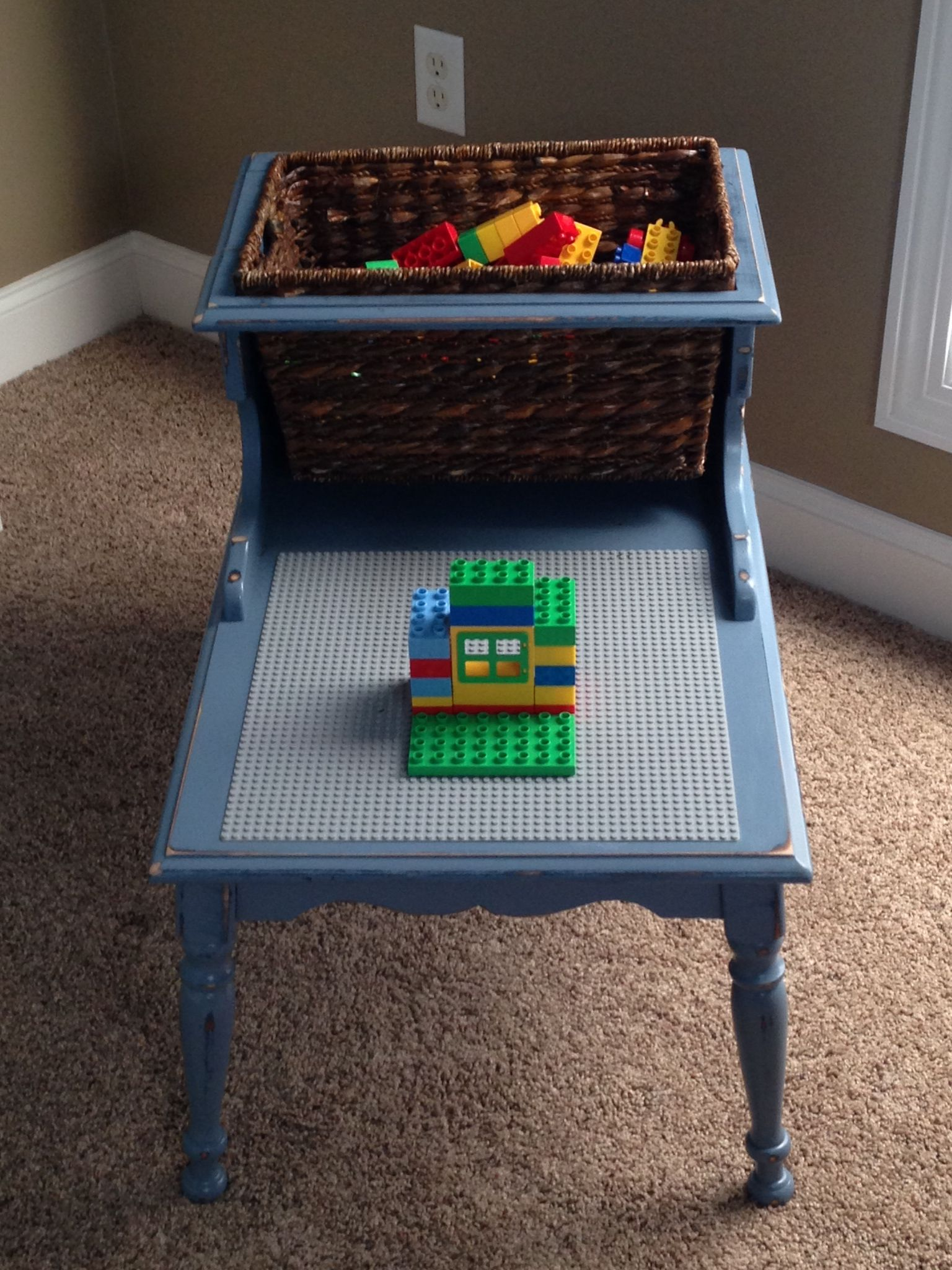 Merveilleux Custom Lego Table   Grandmau0027s Table?
