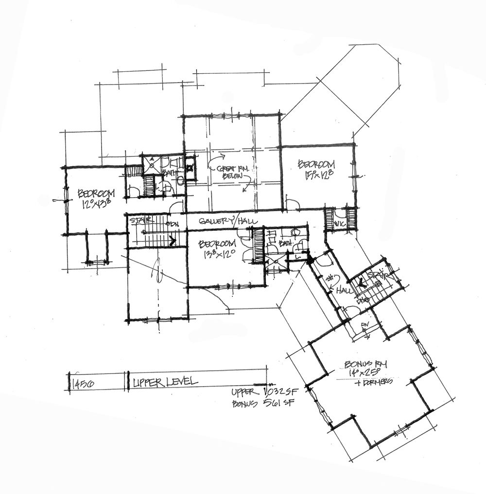 House Plans, Craftsman Floor Plans