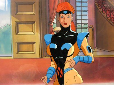 X Men Animated Series Jean Grey Phoenix Animation Cel 400211021012 1 Jpg Cartoon World Animation Animation Series