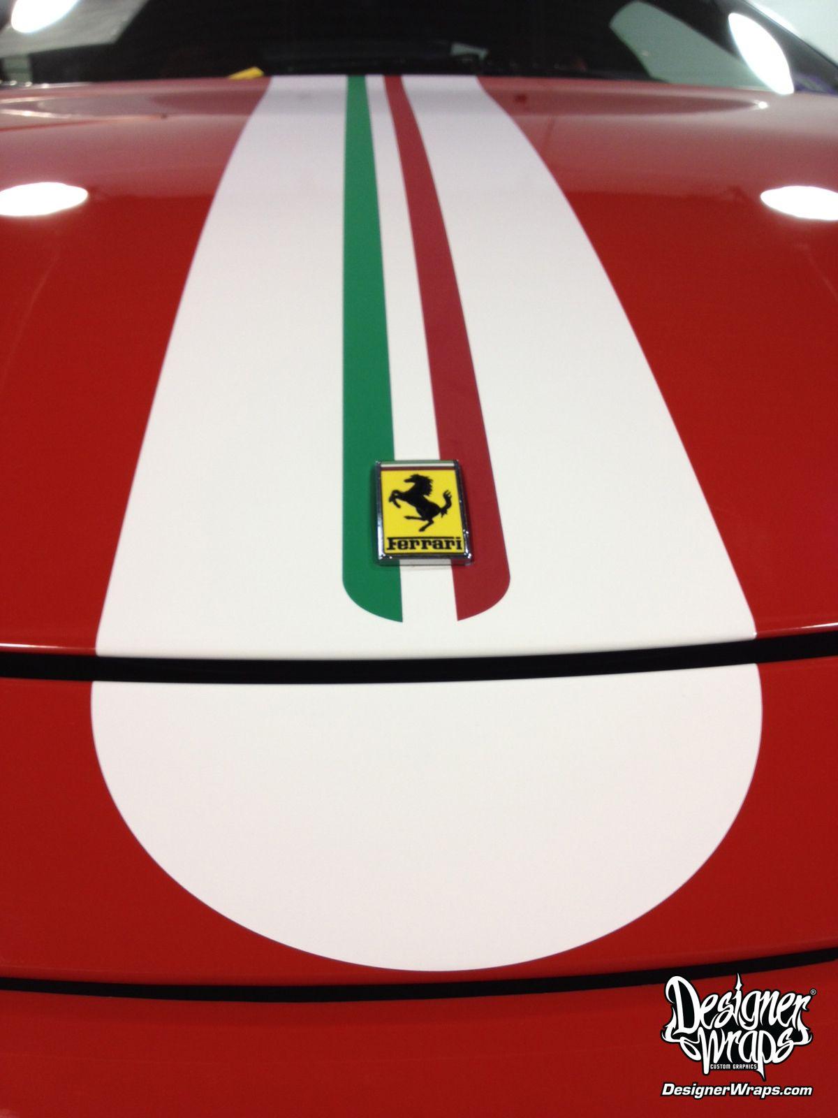 Ferrari 360 Challenge Stradale Italian Tricolor Stripe