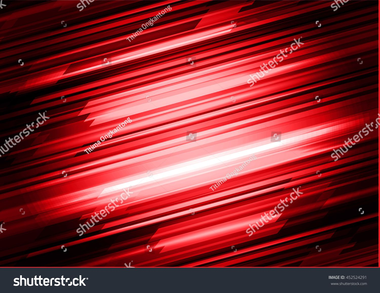 Dark Red Color Light Abstract Technology Background For
