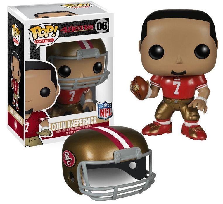 Funko Pop Football NFL 49ERS Colin Kaepernick Vinyl Action