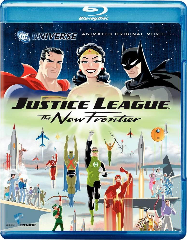 Justice League The New Frontier Blu Ray Watch Justice League Justice League League