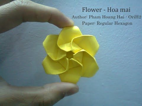 Photo of Tutorial Wie man Blumen macht – hoa mai Pham Hoang Hai von Paper Ph2
