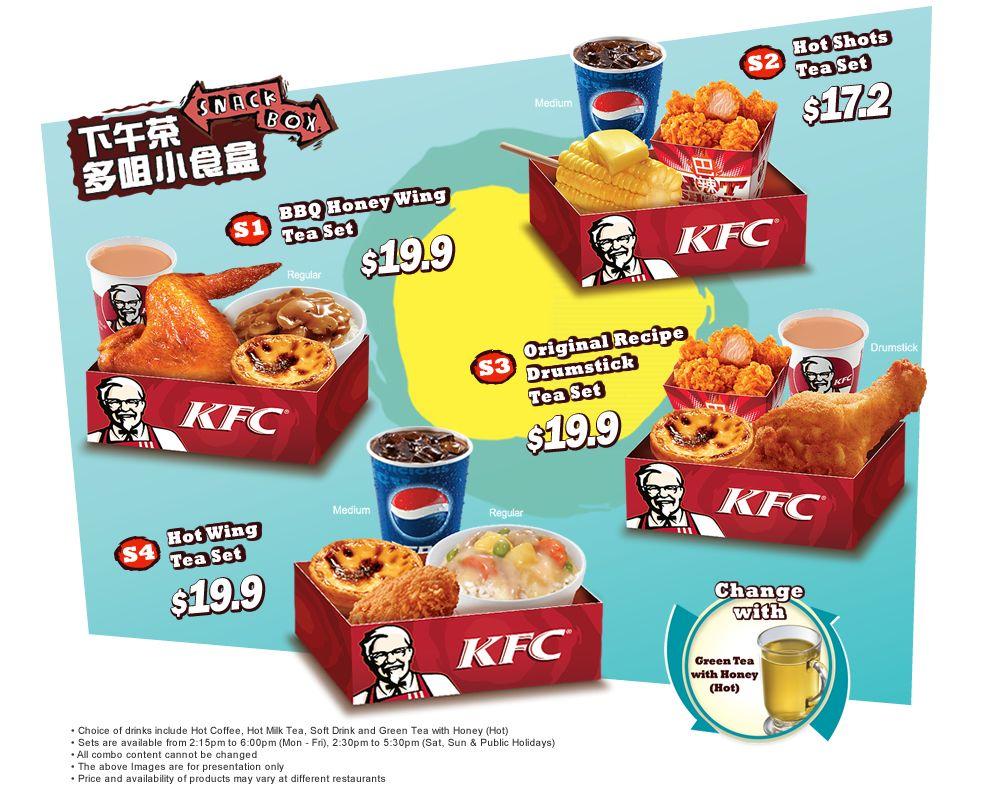 Kfc Hong Kong Snack Boxes Snacks Snack Box Pops Cereal Box