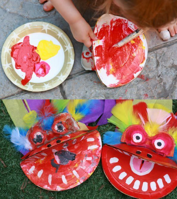 How To Chinese New Year Dragon Puppet Teaching Chinese New
