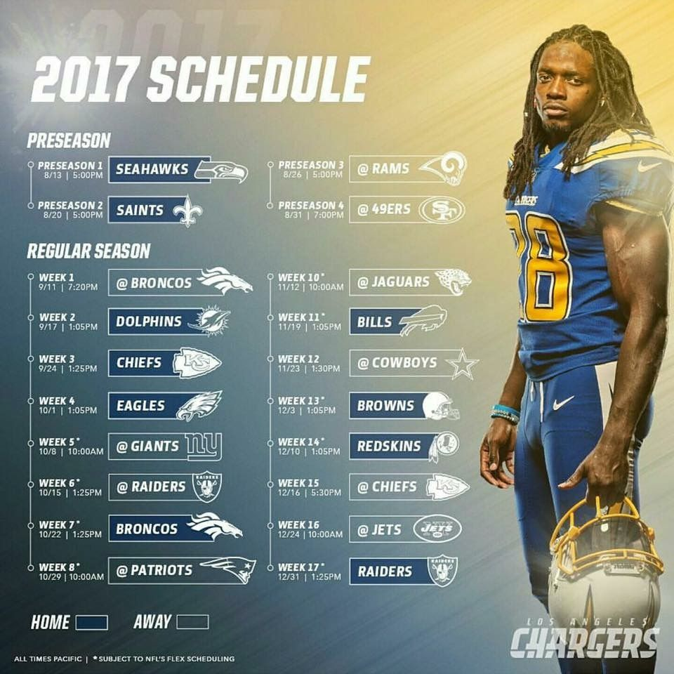 Pin By Terry Cartell On Go Chargers Los Angeles Chargers Seahawks Preseason Nfl Tickets