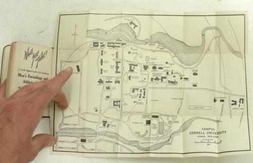 Vintage-1915-1916-CORNELL-University-Freshman-Handbook-Fold-Out ...