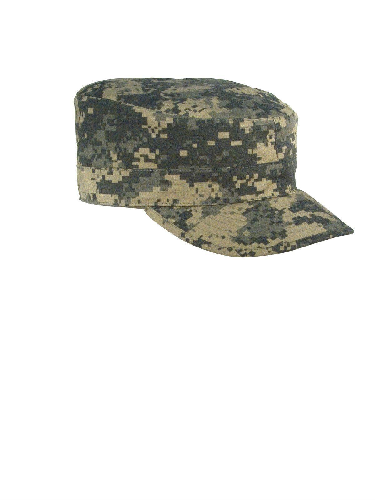 3543c430d2f 2 Ply Army Ranger Caps - Gov Spec Military Fatigue Hat w  Map Pocket ...