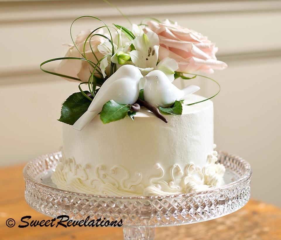 Love Birds Wedding Cake Topper   Bird wedding cakes, Wedding cake ...