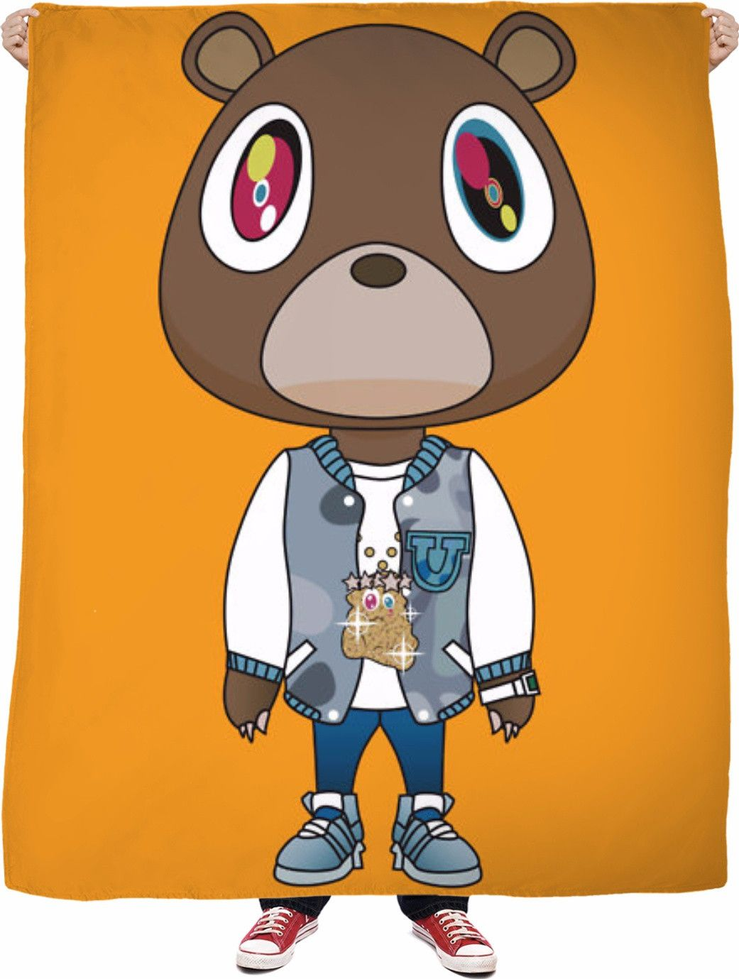 After School Flee Http Www Jakkoutthebxx Com Products After School Fleece Blanket Utm Campaign Social Kanye West Graduation Bear Bear Art Kanye West Bear