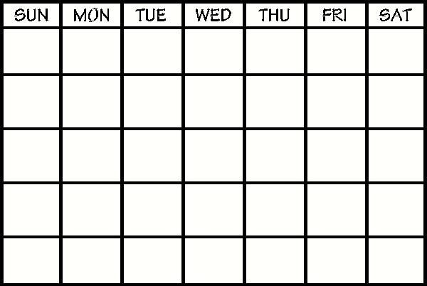 Days Of The Week Calendar Calendar Vinyl Wall Calendar
