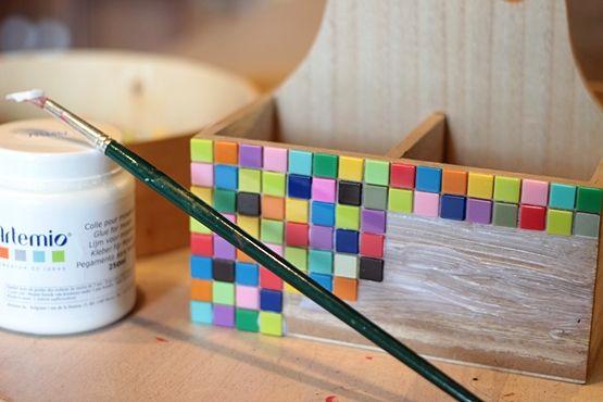 mosaïque facile | Mosaique, Blog et Idée