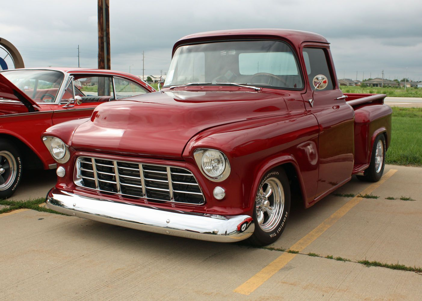1955 chevrolet hot rod truck pictures to pin on pinterest - 1955 Chevy Pickup 1955 Second Series Chevy Gmc Pickup Truck