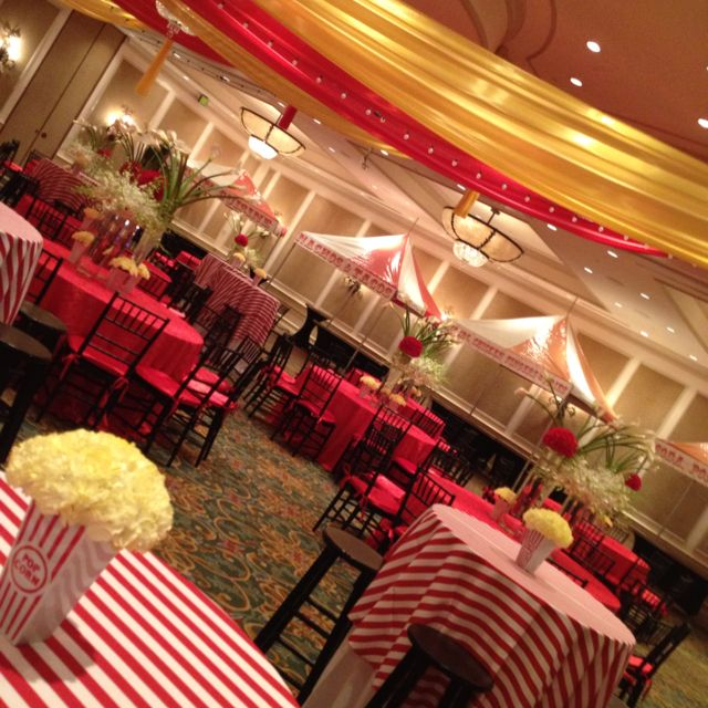 Elegant Circus Theme- I think using a deep red instead of ...