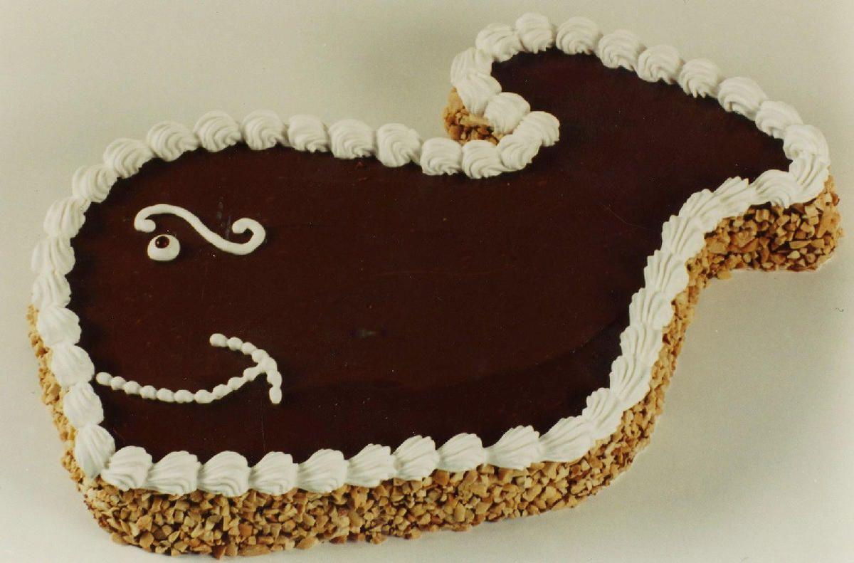 All hail fudgie the whale the best ice cream cake around