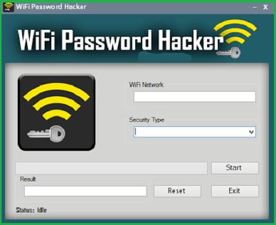 break wifi password windows 7