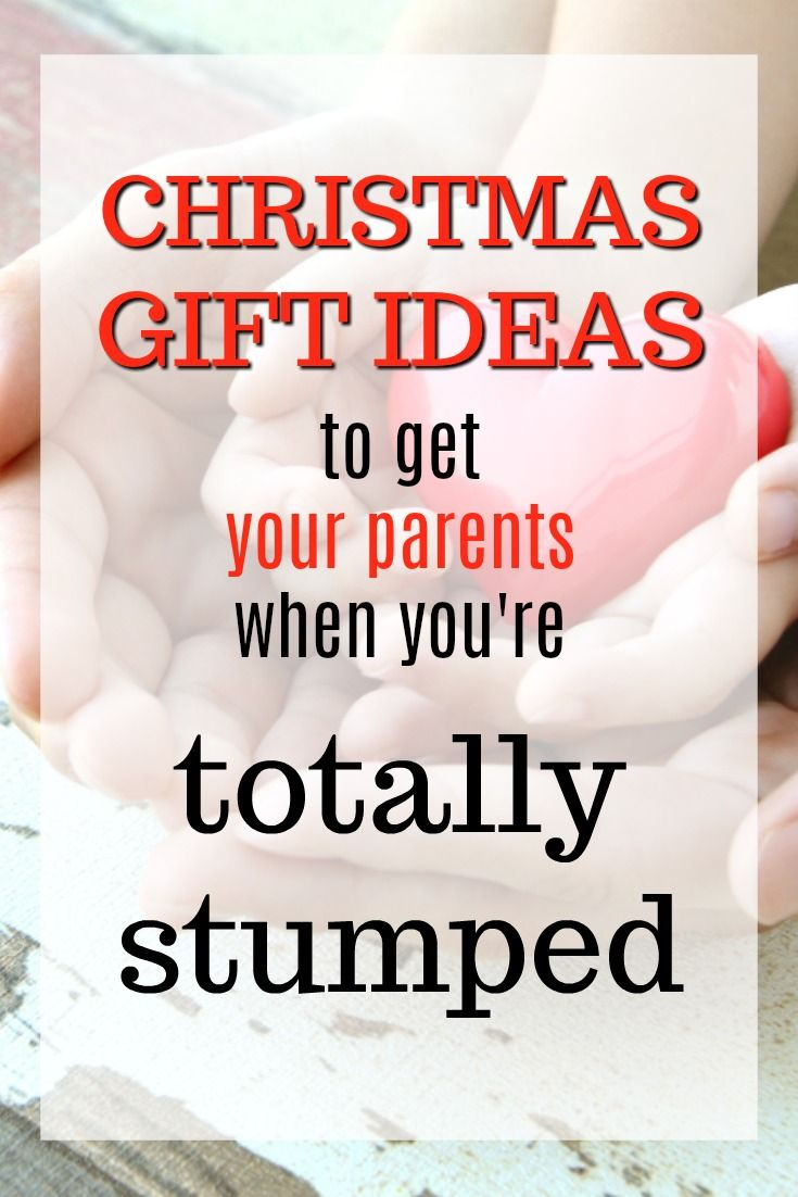 20 christmas gift ideas you can get your parents when you