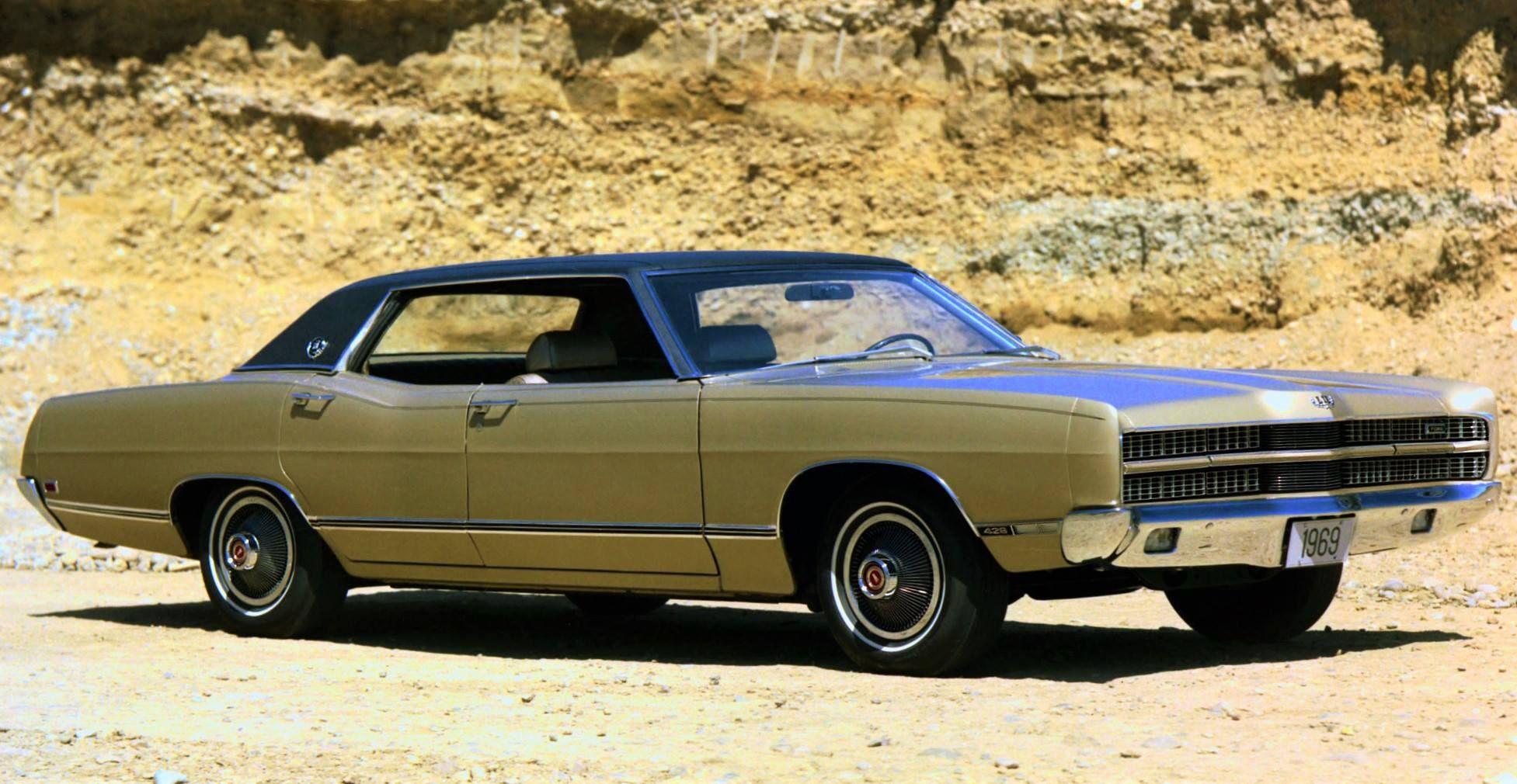 1969 Ford Ltd 4 Door Hardtop Ford Ltd Dream Cars Cars Trucks