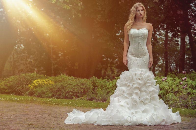 Dress Aquamarine by Crystallline www.crystallinebr... #weddingdress ...