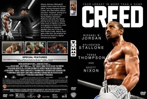 Movie Front Covers | Creed 2015 DVD Front Cover id108036 ...