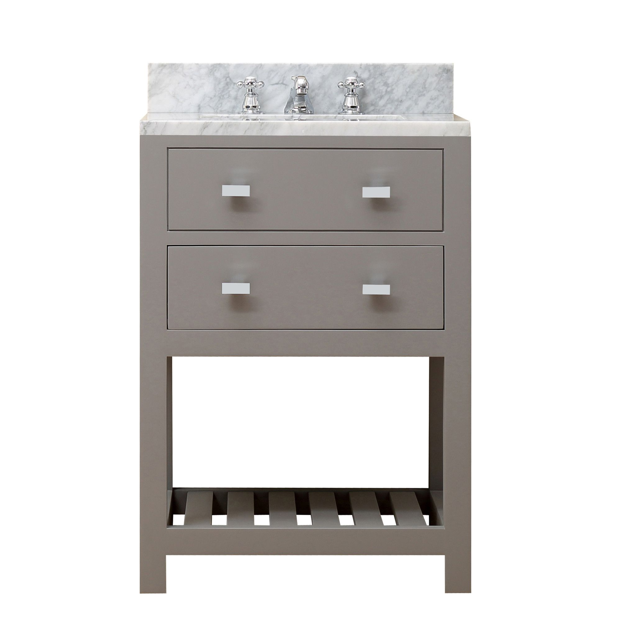 "dCOR design Creighton 24"" Single Sink Bathroom Vanity Set"