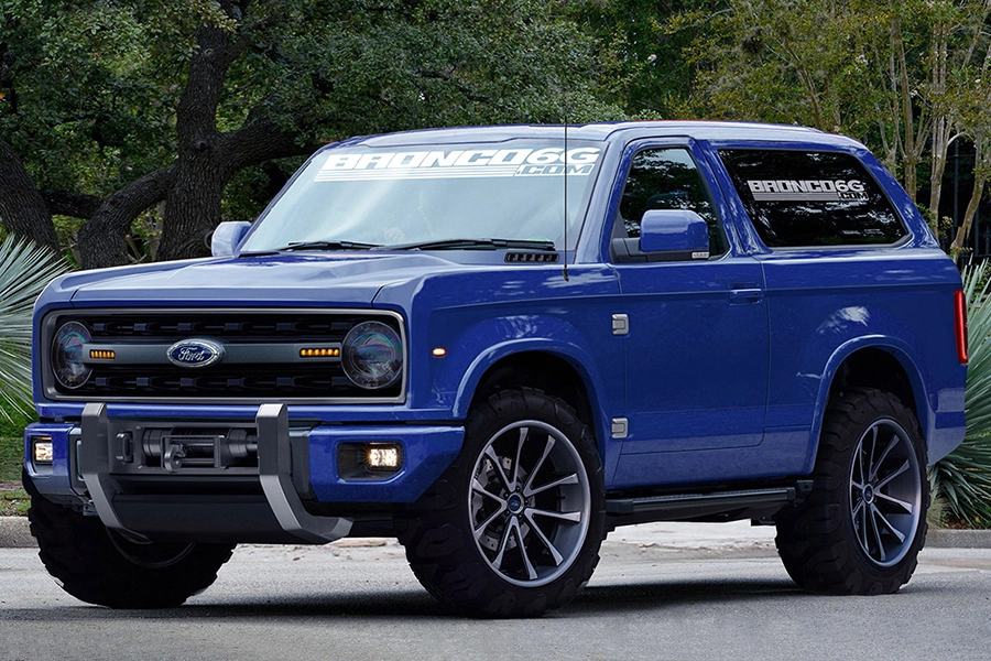 2020 Ford Bronco Concept Fuels More Excitement Ford Bronco Ford Bronco Concept Bronco Concept