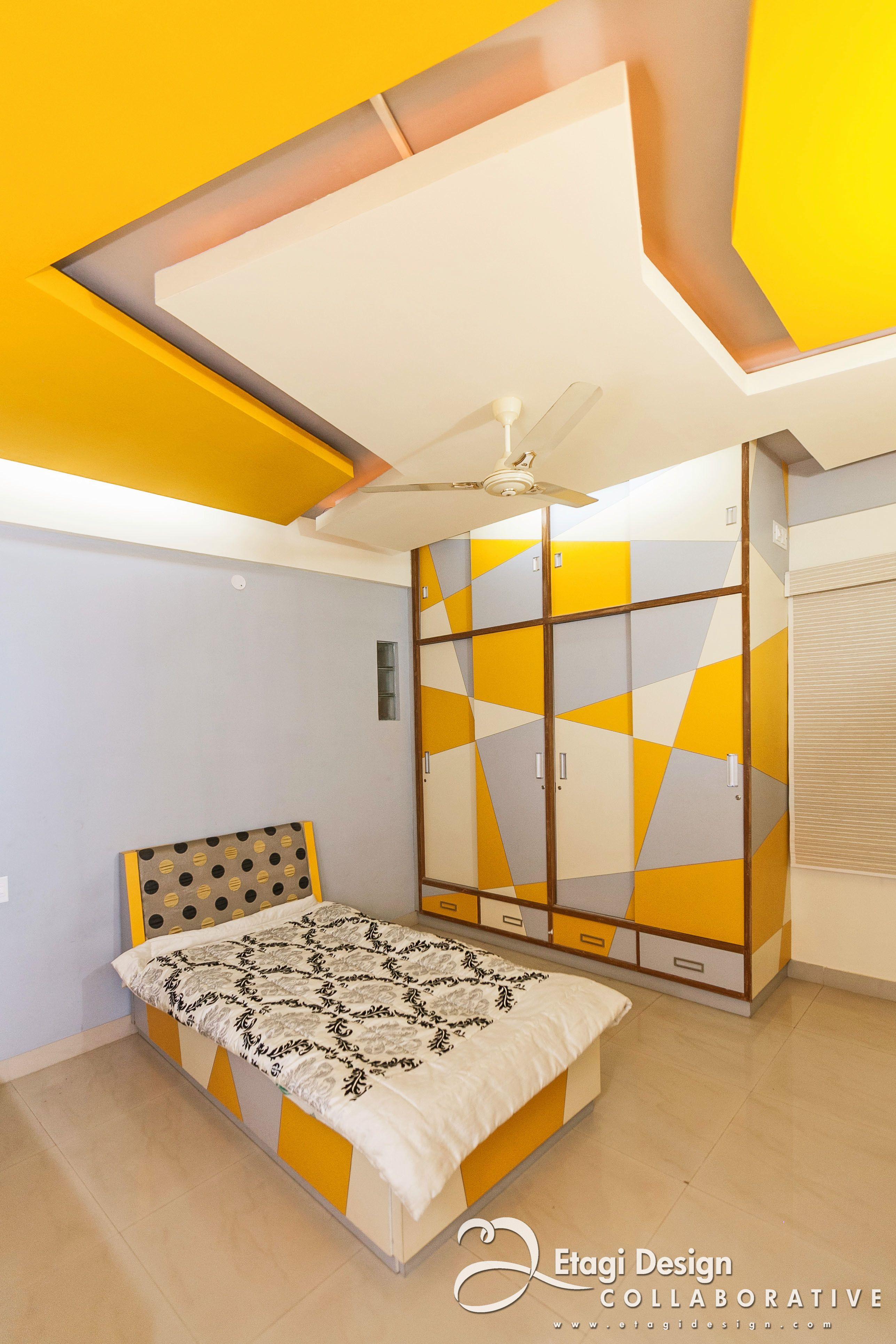 New bedroom interior design modern retro interior design by prashanth nandiprasad